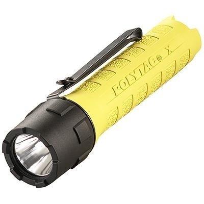Akumulatorowa latarka taktyczna PolyTac X USB, kol. żółty, 600 lm