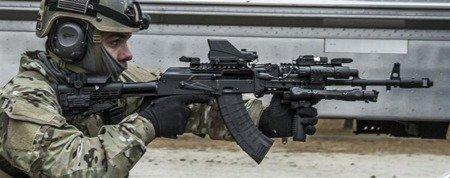 CAA AKTSP 6-pozycyjna prowadnica polimerowa - AK47/74