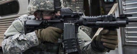 CAA SST1, Oparcie Policzka AR15/M4/M16, zielony