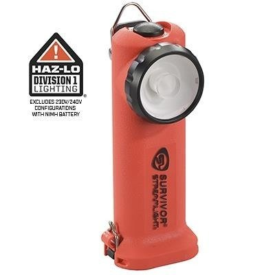 Kątowa latarka strażacka Streamlight Survivor, kolor orange, 175 lm
