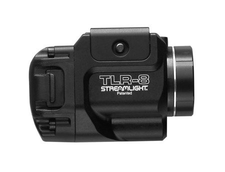 Kompaktowa latarka taktyczna na broń z laserem, 500 lm, TLR-8, Streamlight