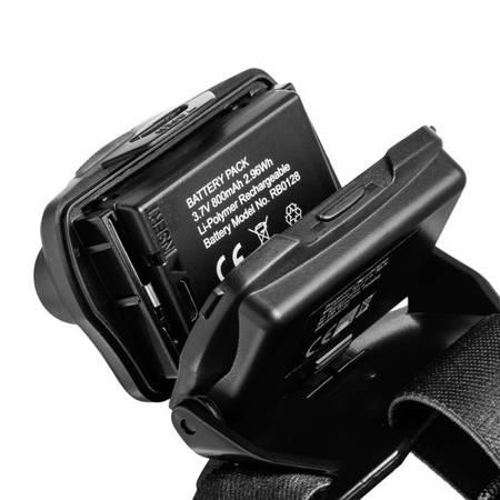 Latarka czołowa z funkcją fokus i sensorem ruchu MAVERICK, 510 lm