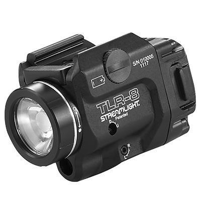 Latarka taktyczna Streamlight TLR-8 A Flex, czerwony laser