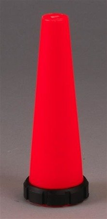 Nakładka sygnalizacyjna czerwona do latarek: POLYSTINGER