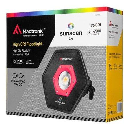 Naświetlacz z wysokim CRI, Mactronic SUNSCAN 5.4, 2000 lm